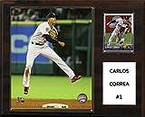 """MLB Houston Astros Carlos Correa Player Plaque, 12""""x15"""""""