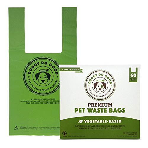Doggy-Do-Good-Premium-Pet-Waste-Bags-Gusseted-180-Count-Vegetable-Based-Dog-Poop-Bags-With-Easy-tie-Handles-Green