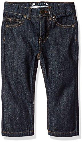 - Nautica Boys' 5-Pocket Skinny Fit Denim Jean, Naval Yard, 12 Months
