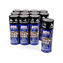 Lucas Oil Chain Lube 11.00 oz Aerosol Case of 12 P/N 10393-12