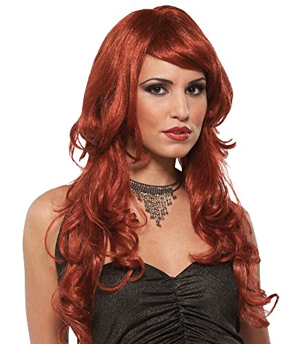 Costume-Wig Supermodel Auburn Halloween Costume - 1 (Super Model Wig Auburn)