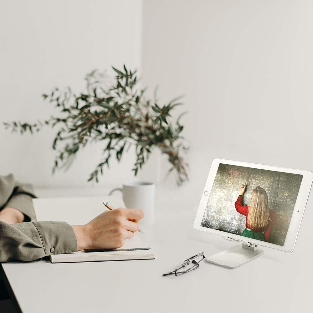 Anti-Fall Design Handy Halter 4-13.5 Winkelh/öhe Verstellbar Universal Halterung f/ür iPad Pro Air 2 3 4 Mini 2 3 4 Surface Pro Book iPhone Samsung Huawei Smartphone Warxin Handy//Tablet St/änder
