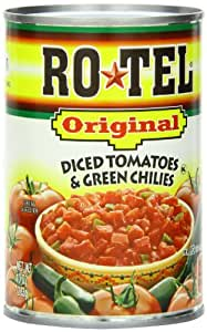 Rotel  Diced Tomato With Green Chilis, 10-Ounce Units (Pack of 24)