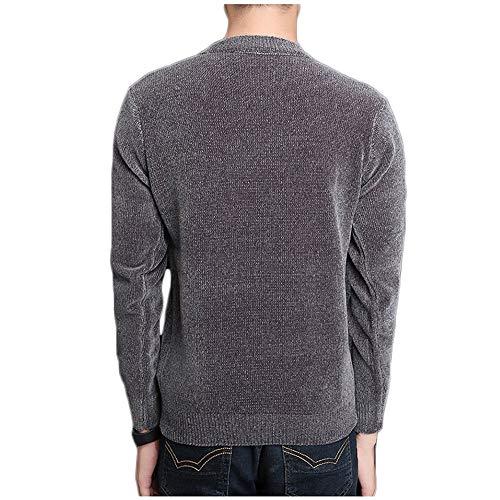 Go Uomo Con Gray Lunghe Maglia Da Shopping Easy Maniche A 6Fq6Rdv
