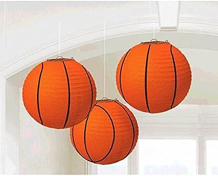 Amazon.com: Baloncesto Dream Fiesta de cumpleaños Linternas ...