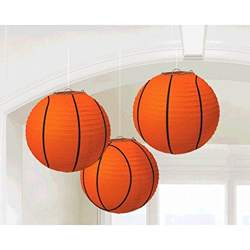 Basketball Paper Lanterns, Party Decoration ()