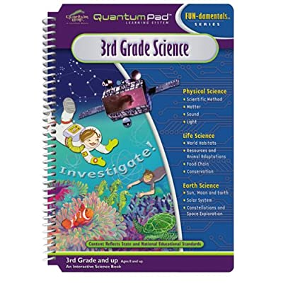 Quantum Pad Learning System: 3rd Grade Science Interactive Book and Cartridge: Toys & Games