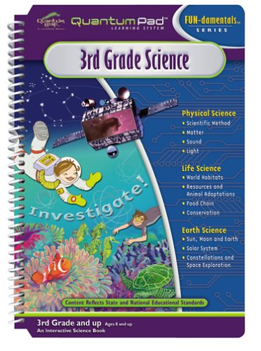 Quantum Pad Learning System: 3rd Grade Science Interactive Book and Cartridge by Unknown (Image #1)