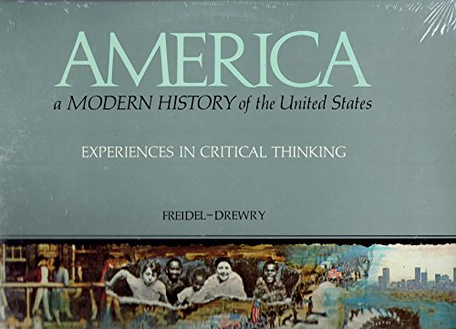 america-a-modern-history-of-the-united-states-experiences-in-critical-thinking-2-record-vinyl-lp-alb