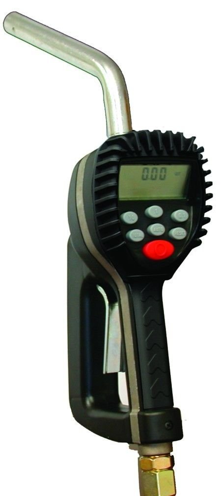 National-Spencer 1522 Digital Preset Meter with Rigid Pipe and Automatic Nozzle, 1/2'' NPT