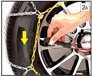 235//40 R17 SUMEX Husky Winter Classic Alloy Steel Snow Chains for 17 Car Wheel Tyres