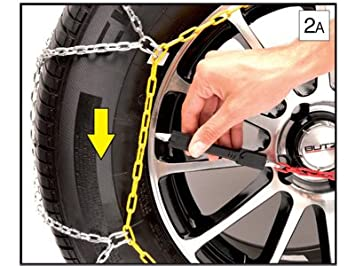 Sumex Husky Winter Classic Alloy Steel Snow Chains for 18 Car Wheel Tires 255//40 R18