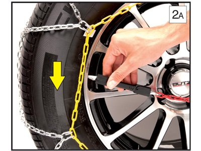 MP Essentials Sumex Husky Winter Classic Alloy Steel Snow Chains to fit 20 Car Wheel Tyres 245//35 R20