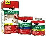 Magic Tub and Tile Refinishing Kit - Bright White
