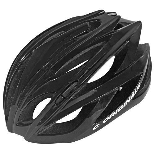 Gramos Ultra Ligero C ORIGINALS C Casco Bicicleta Negro Brillante