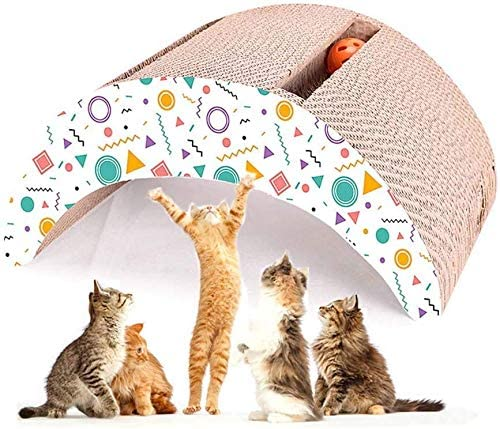 Desconocido Pet Supplies - Marco de Escalada para Gatos, Juguete para Gatos, Juguete para rascar y Tabla corrugada para amolar Gatos, Accesorios para Juegos de Gatos, salón, cartón: Amazon.es: Productos para mascotas