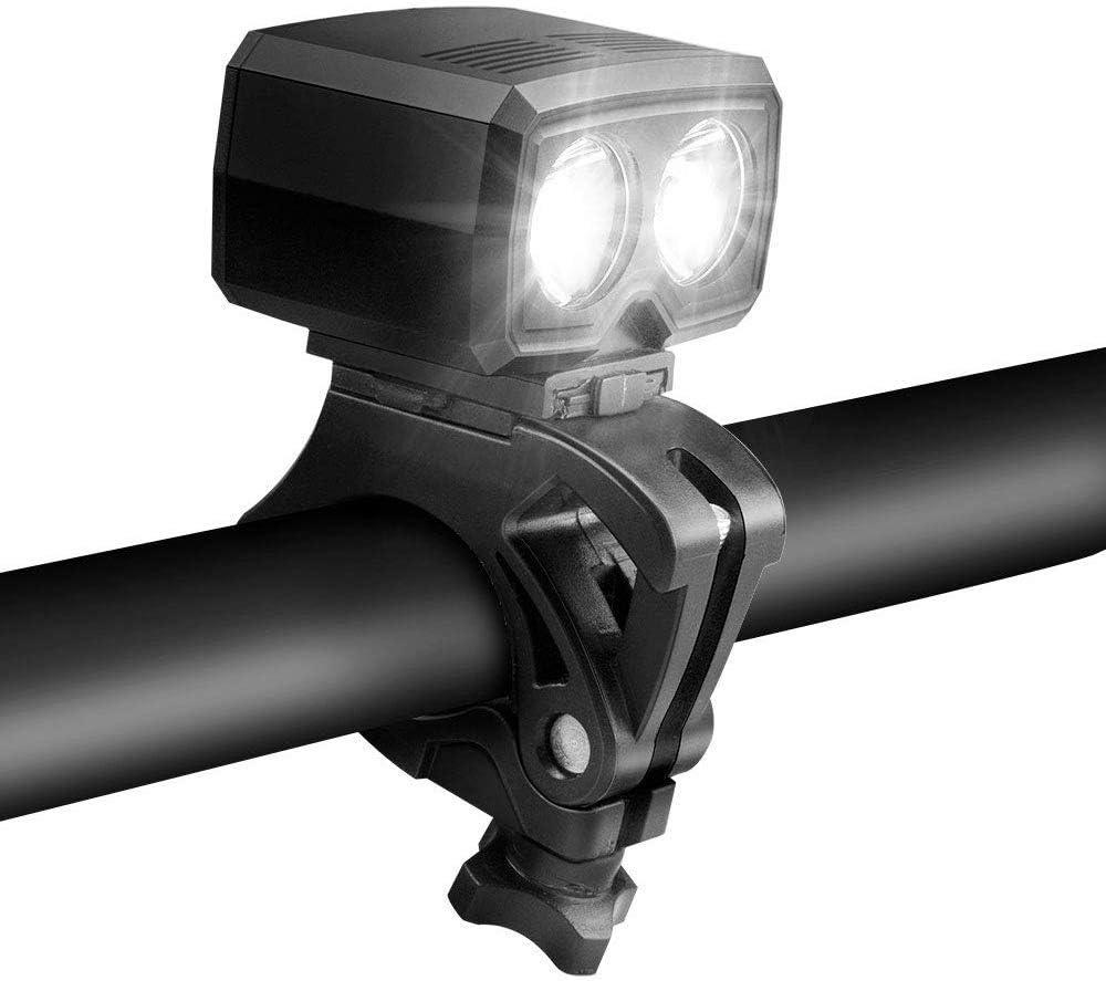 Portable USB Rechargeable Road Bike Front Light Mini Head Lamp Waterproof 5Modes