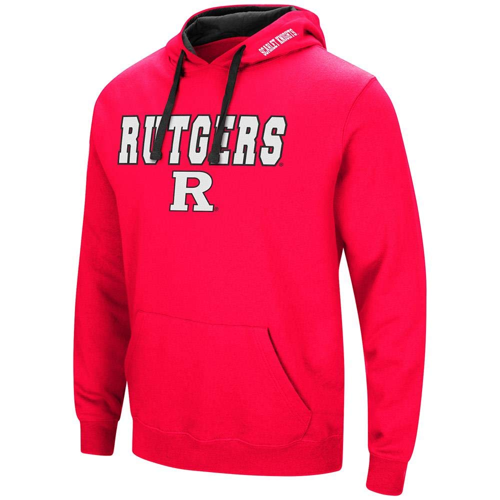 ColosseumメンズRutgers Scarlet Knights用プルオーバーパーカー  XX-Large
