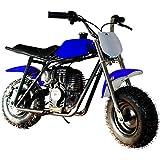 starmax 40cc Gas Powered Kids Mini Dirt Bike (Blue Retro)