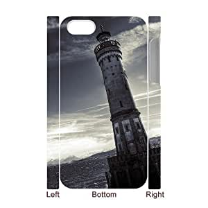3D Bumper Plastic Case Of Lighthouse customized case For Iphone 4/4s