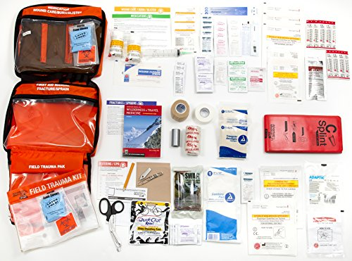 Adventure Medical Kits Sportsman Series Grizzly First Aid Kit, QuikClot Stops Bleeding Fast, Treat Bullet Wounds, Detachable Hunting Field Trauma Kit, Petrolatum…