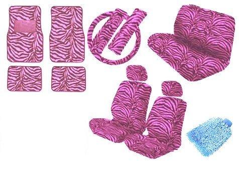 pink camo print car seat covers - 3