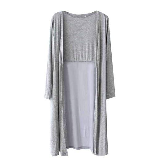 Go First Elegante Cardigan Largo para Las Mujeres Vestidos De Tul ...