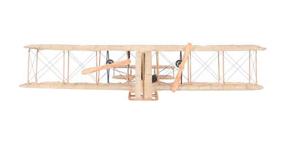 Old modernes Kunsthandwerk Wright Brothers Flugzeug