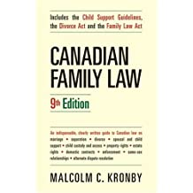 Canadian Family Law, 9th Edition