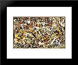Convergence 20x24 Framed Art Print by Pollock, Jackson