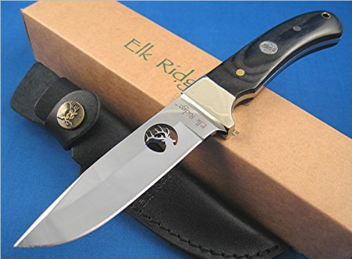 Elk Ridge Er-010 Fixed Blade Knife 8.5-Inch Overall, Outdoor Stuffs