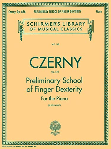 Preliminary School Of Finger Dexterity For The Piano Op636