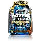 MuscleTech Nitro Tech Casein Gold 100% Protein Powder Chocolate Supreme, 5 Pound