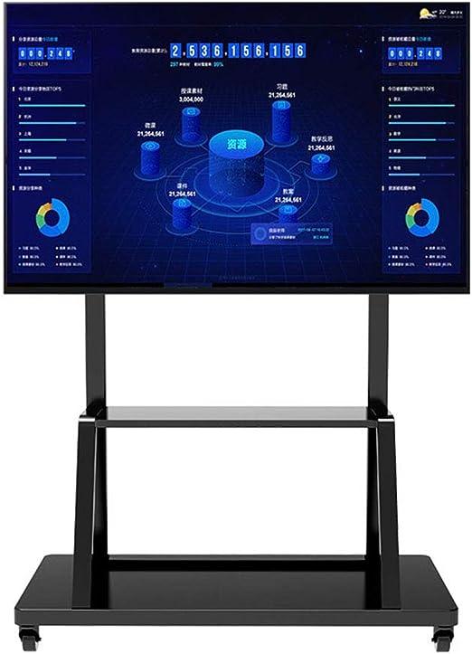 ZYH-Shelf Carro de TV móvil, Soporte Universal de TV para ...