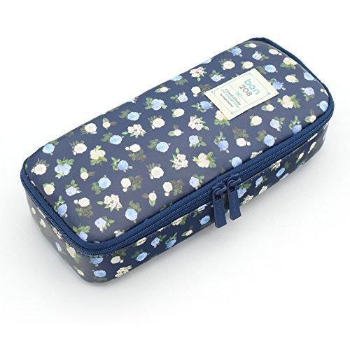 Pencil Case, Twinkle Club Pen Bag Makeup Pouch Zipper Box Of