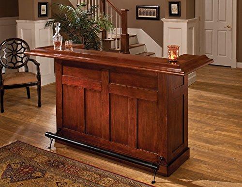 Hillsdale Furniture 62578ACHE Classic Bar, Large, Cherry Finish