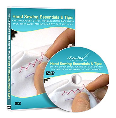 Hand Sewing Essentials and Tips - Video Lesson on DVD