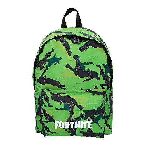 🥇 Fortnite – Mochila Camuflaje verde 31 x 43 cm