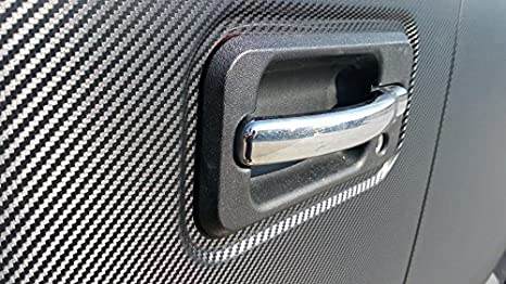 VViViD XPO Dry Deep Black 3D Carbon Fiber Vinyl Wrap Roll with Air Release Technology 1.5ft x 5ft