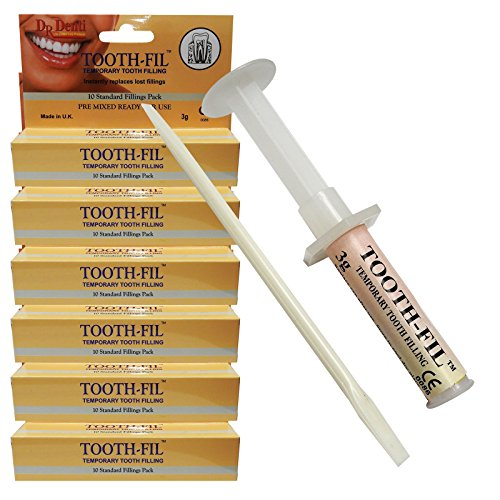 Dr Denti Temporary Tooth Teeth Repair Dental Dentist Filling Care