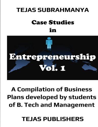 Case Studies in Entrepreneurship (Volume 1) pdf epub