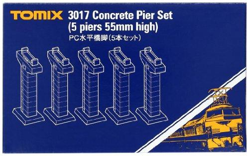 TOMIX Nゲージ PC水平橋脚 5本セット 3017 鉄道模型用品