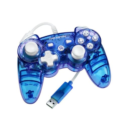 Rock Candy PS3 Controller - Blue