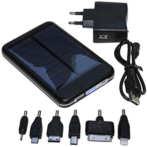 USB cargador solar para iPhone 4 4S 5 5S iPad teléfono móvil ...