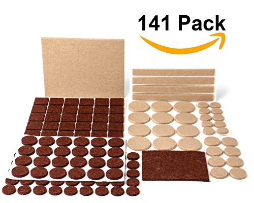 Felt Pads, MINERVA Heavy Duty Adhesive Furniture Pads