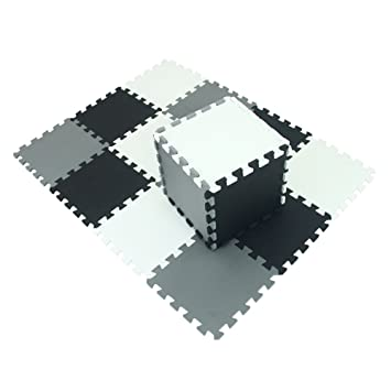 XMTMMD Suelo Para Ninos Y Infantiles EVA Puzzle ColchonetaPara Ninos Y Infantiles EVA Puzzle Colchonetas Puzzle/Rompecabezas para cubrir el suelo (18 ...