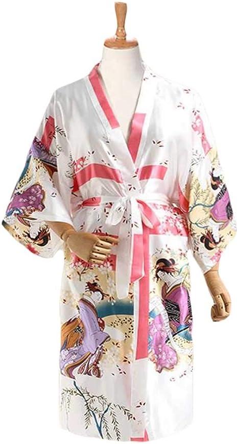 Pigeon Fleet Kimono de Estilo japonés Kimono para Mujer ...