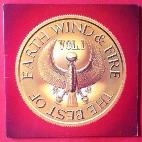 EARTH WIND & FIRE Best Of Vol.1 LP Vinyl & GF COVER VG+ 1978 Lyrics Slv FC 35647