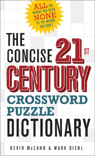 - The Concise 21st Century Crossword Puzzle Dictionary