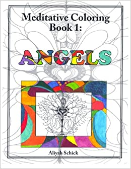 Amazon Angels Meditative Coloring Book 1 Adult For Relaxation Stress Reduction Meditation Spiritual Connection Prayer Centering